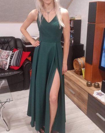 Suknia, sukienka butelkowa brokat