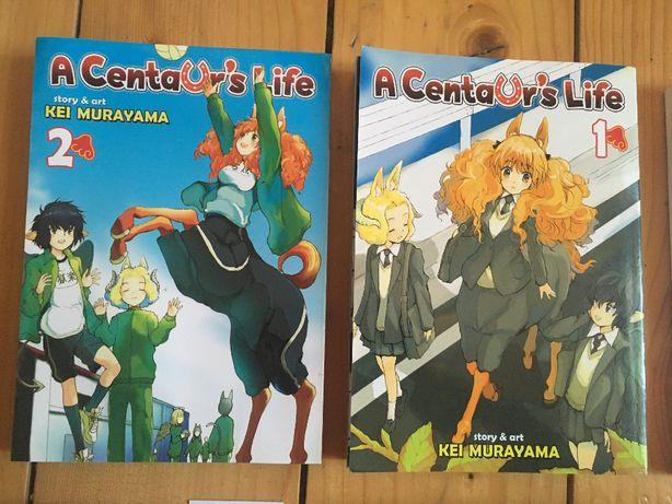 Komiks, manga, A Centaur's Life 1 i 2