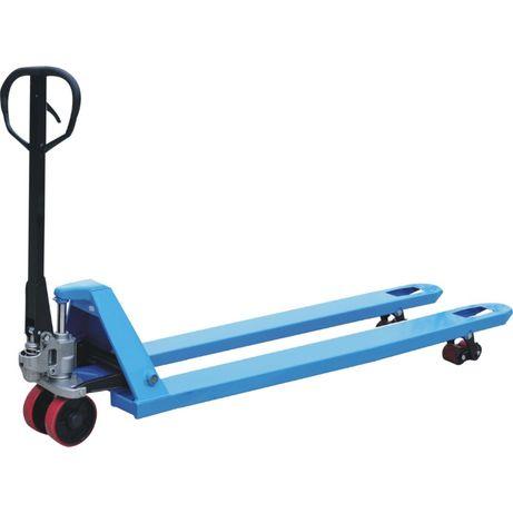 Ręczny wózek widłowy paletowy 2000mm. Paleciak długie widły 2 metry.