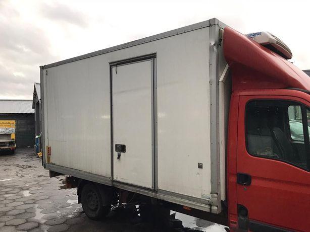 zabudowa kontener chłodniczy chłodnia 230v stacjonarna tk v300 winda