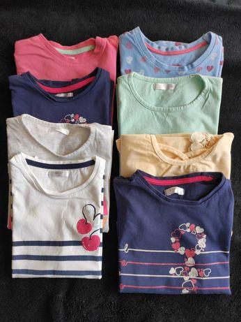 Paka, zestaw t-shirt koszulka rozmiar 98