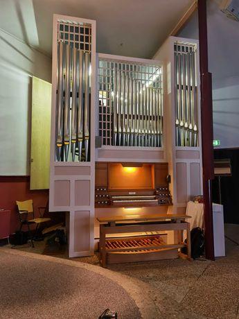 Piszczałkowe organy kościelne