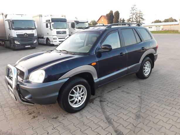 Hyundai Santa Fe 2004 2.4 bezwypadkowy z Niemiec!