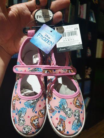 Sapatos sabrinas frozen Disney novos