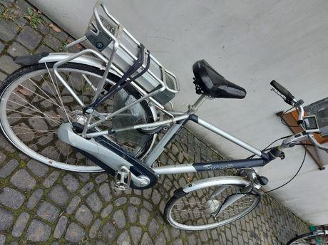 Rower Elektryczny Cross / BRASA / Bagażnik