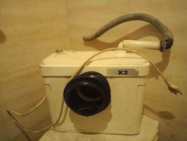 Pompa, rozdrabniacz, młynek do wc