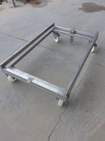 Carro transportador inox