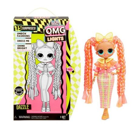 Кукла ЛОЛ Дива MGA LOL surprise O.M.G. Lights серия Dazzle Fashion