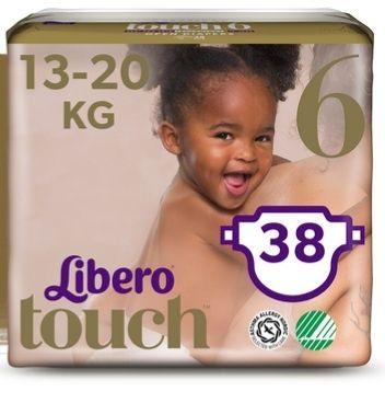 Подгузники Libero Либеро touch 6 13-20 кг 38  шт