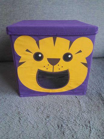 Karton pudełko na zabawki