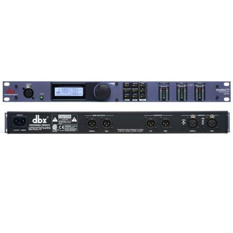 Procesor dźwięku - dbx Drive Rack PX + mikrofon pomiarowy