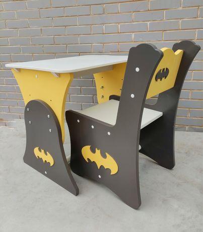Детский столик и стульчик, растущий столик для мальчика