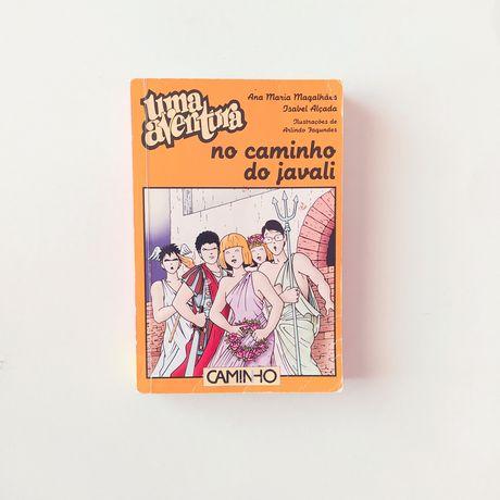 Livro Uma Aventura No Caminho do Javali