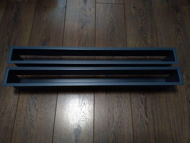 5 sztuk Kratka kominkowa kratki kominkowe Kanał Luft 80x9 cm 800x90 mm