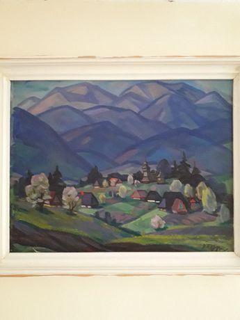 """Бердарь Василий, картина """"Село в горах"""""""