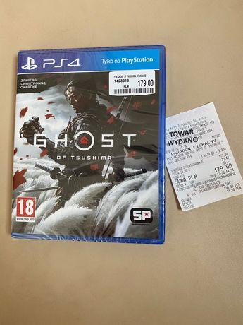 Ghost of Tsushima PS4 gra -nowa folia +paragon.