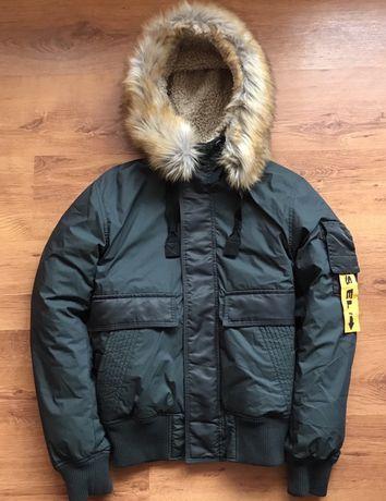 Зимняя куртка бомбер Diesel W Burke Winter Jacket x Alpha Indusries