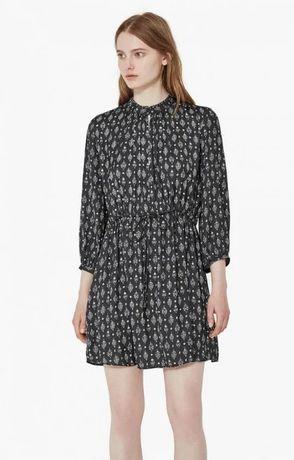 Свободное платье – рубашка Mango в отличном состоянии