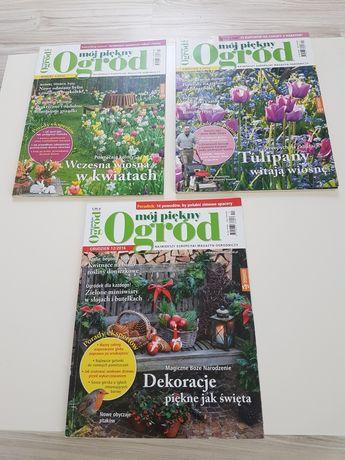 Czasopisma ogrodnicze 3 sztuki Mój piękny ogród