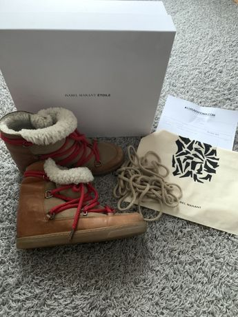 Buty Isabel Marant snow Boots sniegowce rozm 40