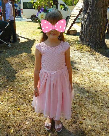 Выпускное нарядное платье на девочку летнее платье 6-7 лет