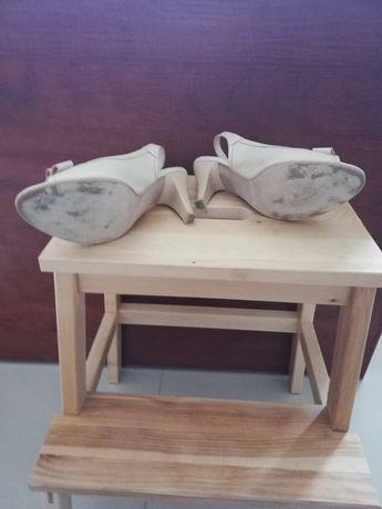 Sandały damskie 37 ecrue