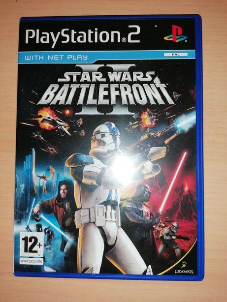 Jogo PS2 ( PlayStation 2 ) Star Wars - Battlefront II