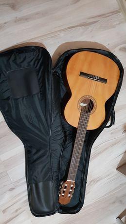 Gitara klasyczna hiszpańska prudencio saez + dodatki