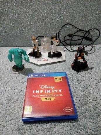 Gra ps4 disney infinity plus figurki