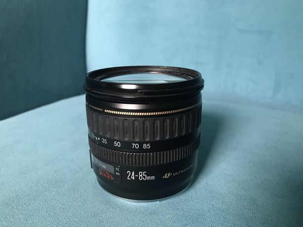 Canon 24-85 f/3.5-4.5 USM najlepszy w klasie, filtr Hoya CPL