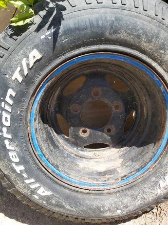 Jante invertida com pneu,land rover