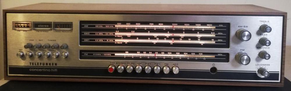 Aparelhagem Telefunken (Anos 60) Almada, Cova Da Piedade, Pragal E Cacilhas - imagem 1