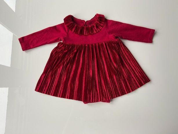 Sukienka niemowlęca H&M rozmiar 62