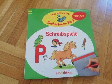 Schreibspiele książka do nauki pisania po niemiecku