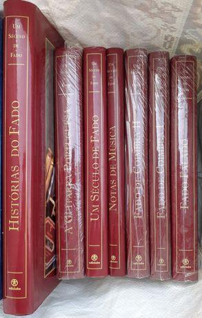 Histórias do Fado 7 livros maioria SELADOS