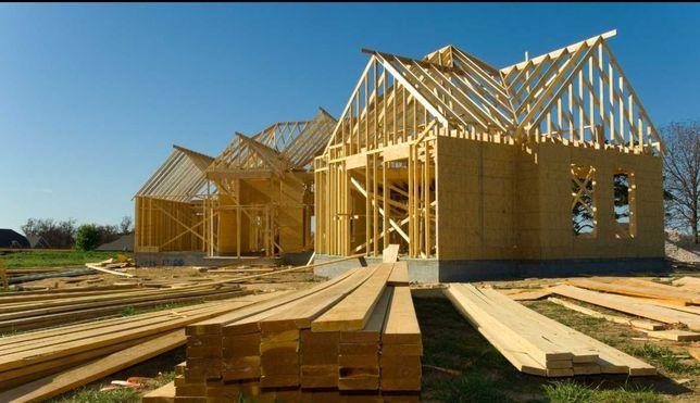 Konstrukcje drewniane, Domy szkieletowe , Garaże, Tarasy