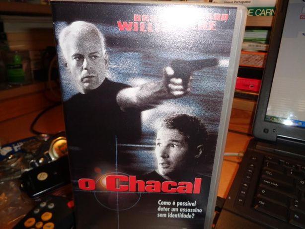 Filme VHS O Chacal Filme Antigo
