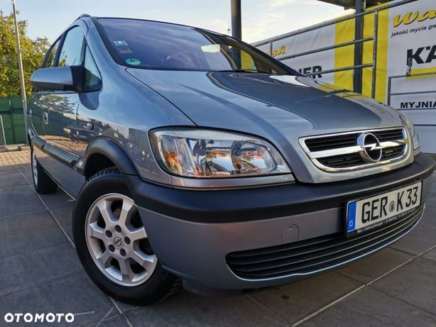 Opel Zafira PIĘKNY OPEL ZAFIRA 1.8 Benzyna 2004 Rok SUPER OFERTA Oryginał