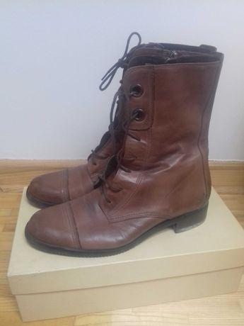 Buty skórzane Ryłko 38