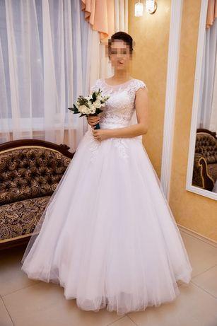 Весільне плаття, нове, одягалося один раз