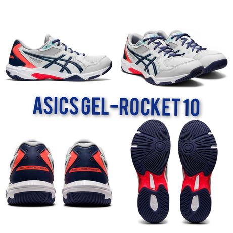 Кроссовки Asics Gel-Rocket 10 мужские, женские Оригинал!