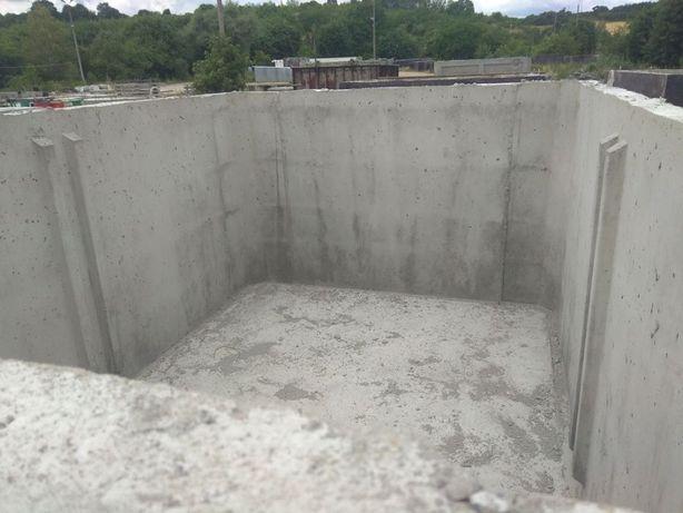 Zbiornik na gnojówkę gnojowicę 4m3 deszczówkę szamba betonowe szambo