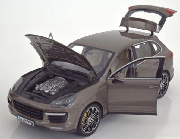 Модель Porsche Cayenne Turbo S (958), Minichamps 1:18