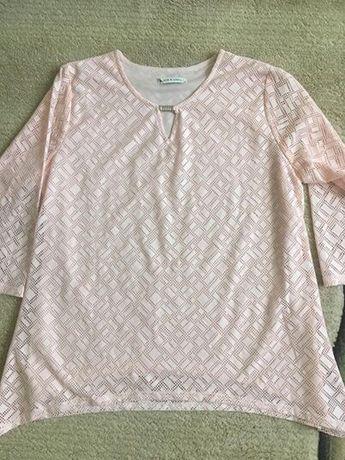 Nowa koronkowa ażurowa bluzka tunika 42-44