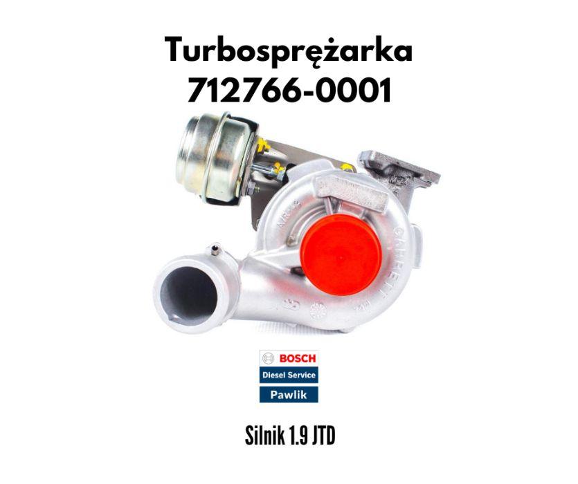 Turbina Alfa Romeo Fiat Lancia 1.9 JTD 110/115 KM