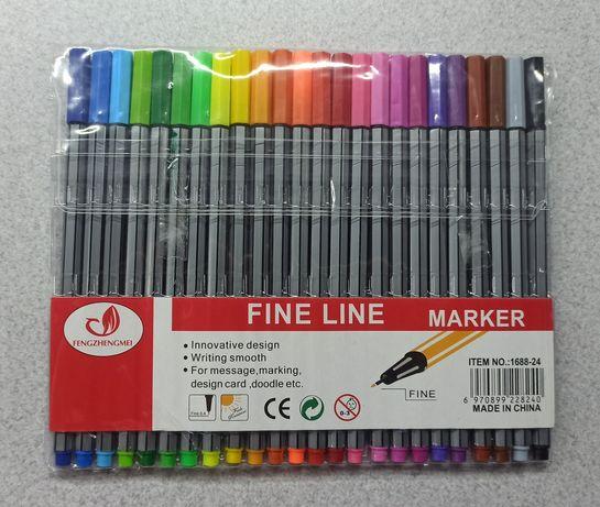 Набор водных ,контурных маркеров для рисования- 24 цвета
