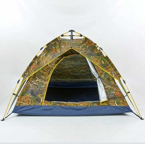 автоматическим  - Палатка двухслойная 4-х местная с быстрым каркасом