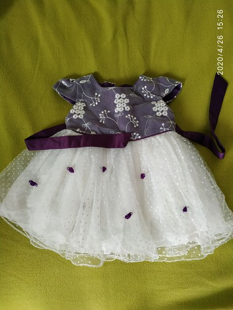 Платье kcl London нарядное 9 месяцев -1 год