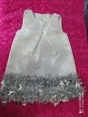 Новорічне платтячко сніжинки