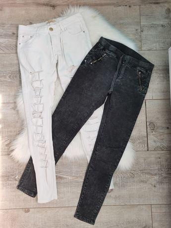 Spodnie damskie dżinsowe